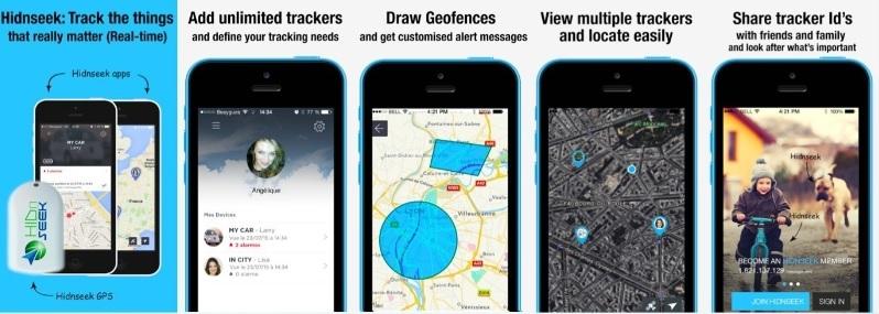 hidnseek and digitraq sim free trackers